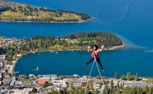 Fancy Doing a Canyon Swing in New Zealand? Photo by bungy.co.nz