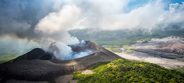 5 Tips for Standing on the Edge of a Volcano. Photo by David Kirkland/Vanuatu Tourism Office