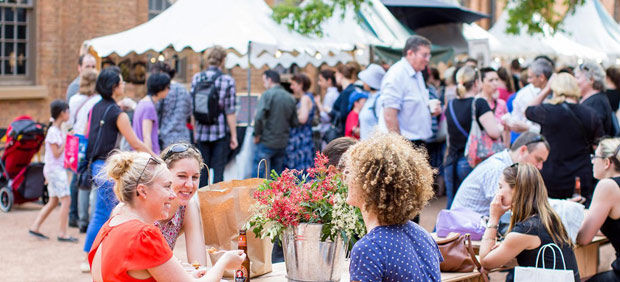 Your Guide to Christmas Markets in Australia. Photo by James Horan for Sydney Living Museums
