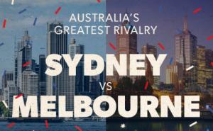 Sydney vs Melbourne