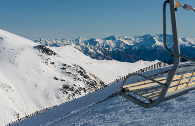 New Zealand Ski Field Remarkables