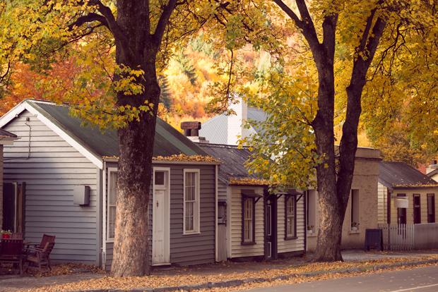 Vintage style image of Autumn