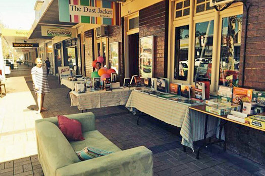 Must-Visit Bookstores in Australia: The Dust Jacket, Inverell. Photo by thedustjacket.com.au