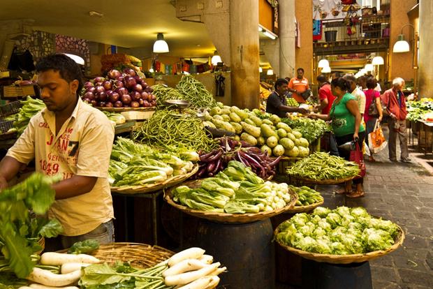 street food in Mauritius